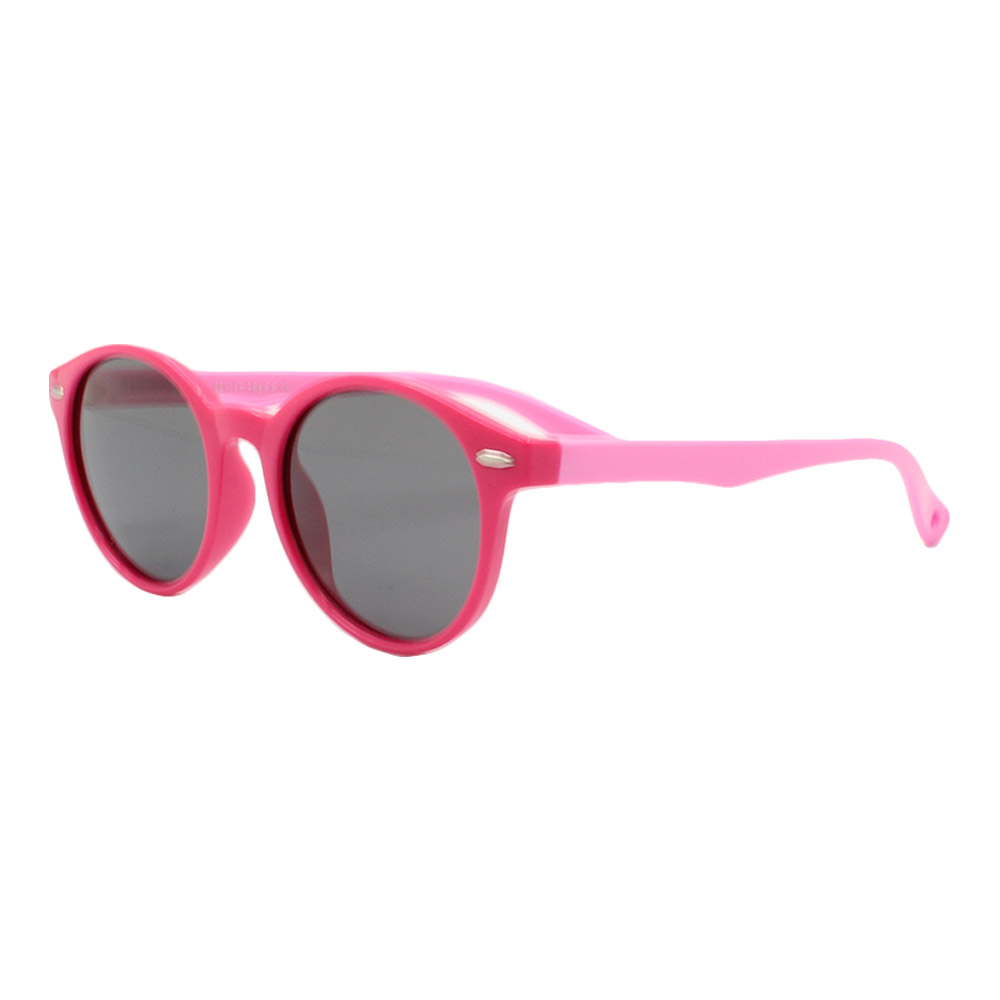 Óculos Solar Infantil Polarizado em Nylon Flexível S8217 Rosa