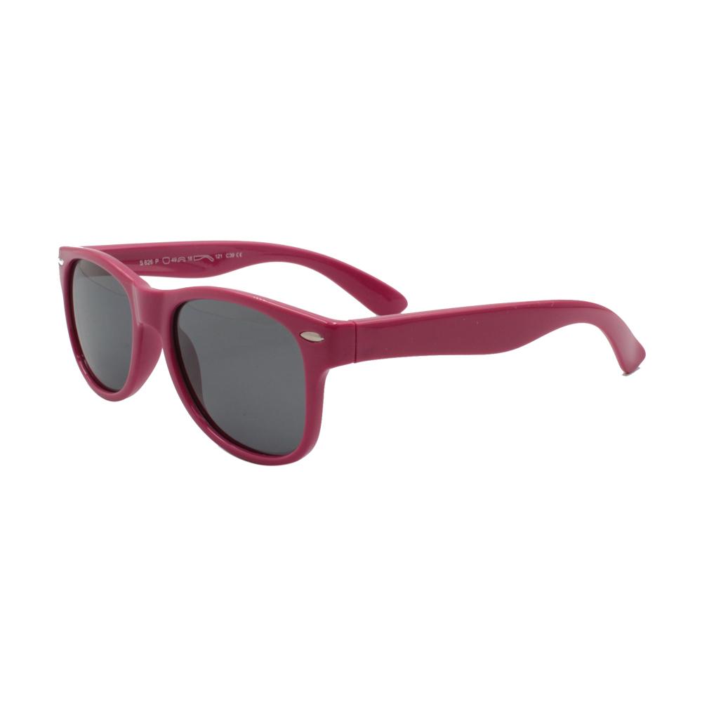 Óculos Solar Infantil Polarizado em Nylon Flexível S826P-C39 Fúcsia