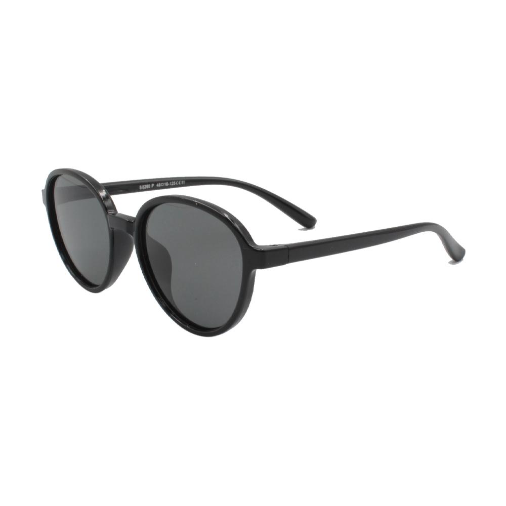 Óculos Solar Infantil Polarizado em Nylon Flexível S8280P-C11 Preto