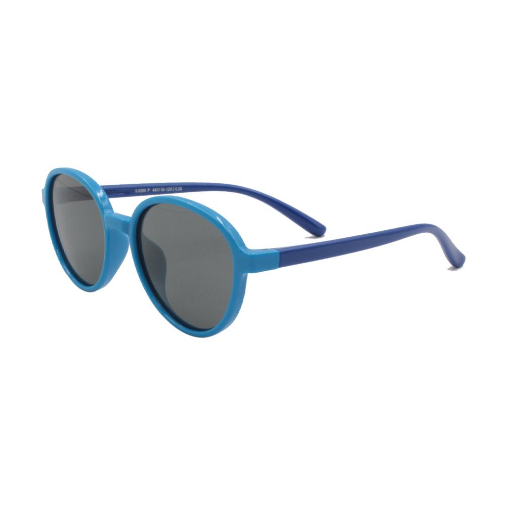 Óculos Solar Infantil Polarizado em Nylon Flexível S8280P-C29 Azul