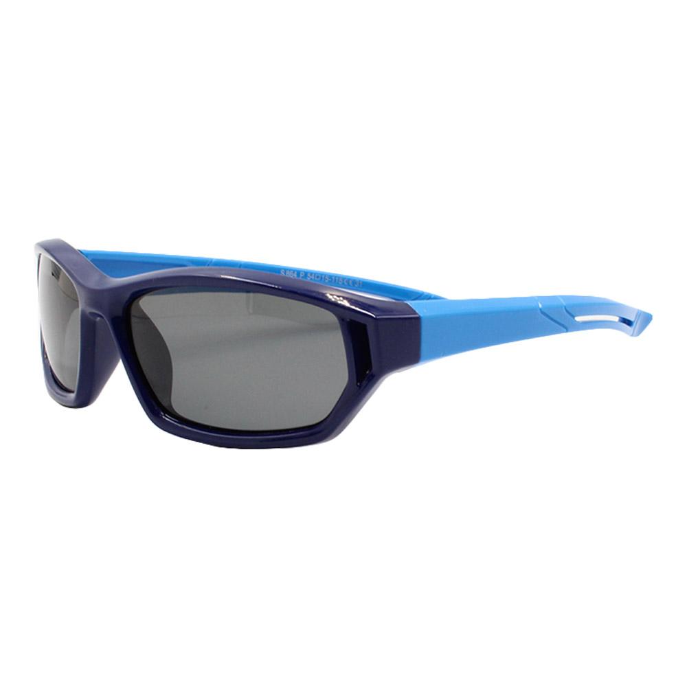 Óculos Solar Infantil Polarizado em Nylon Flexível S864 Azul