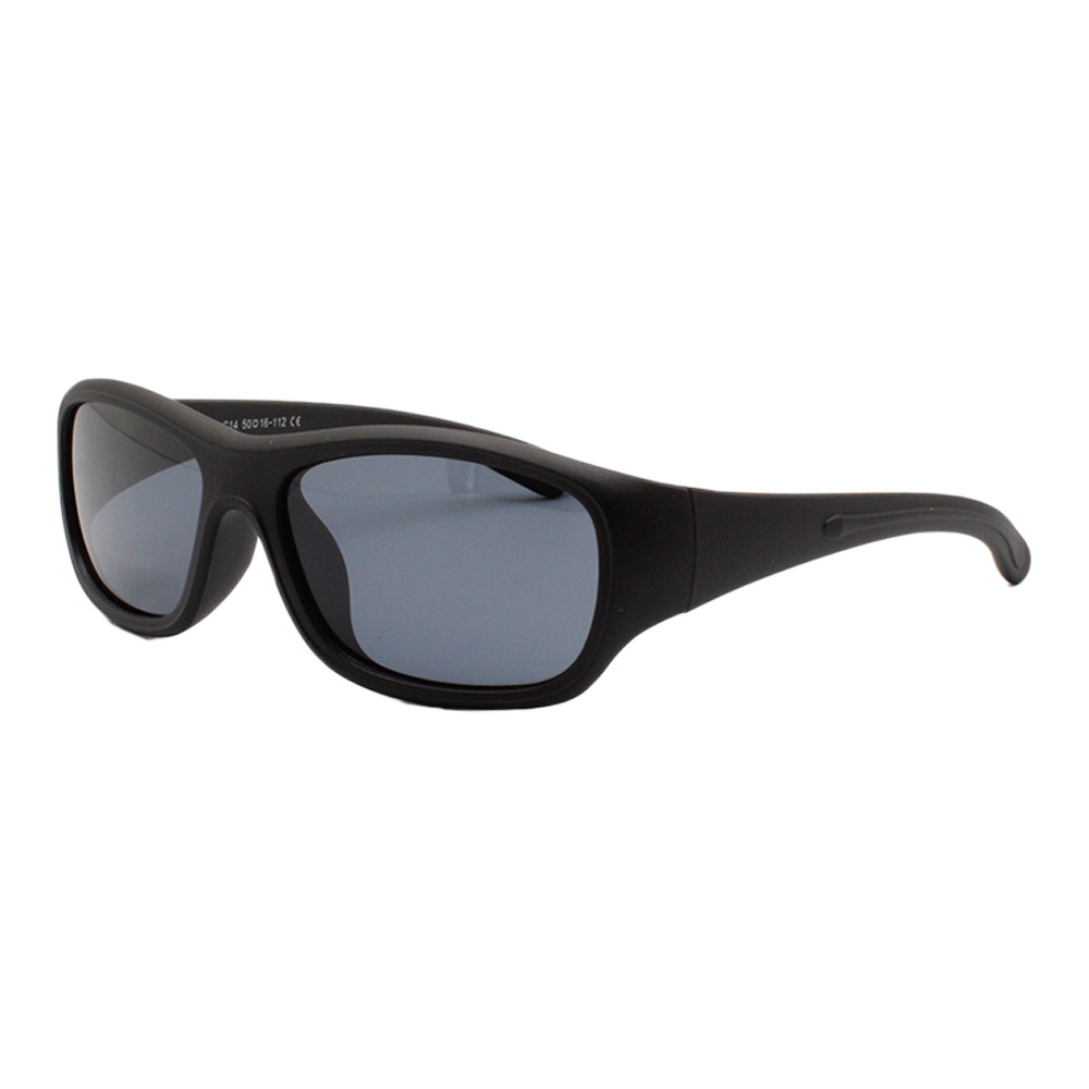 Óculos Solar Infantil Polarizado em Nylon Flexível T1526 Preto