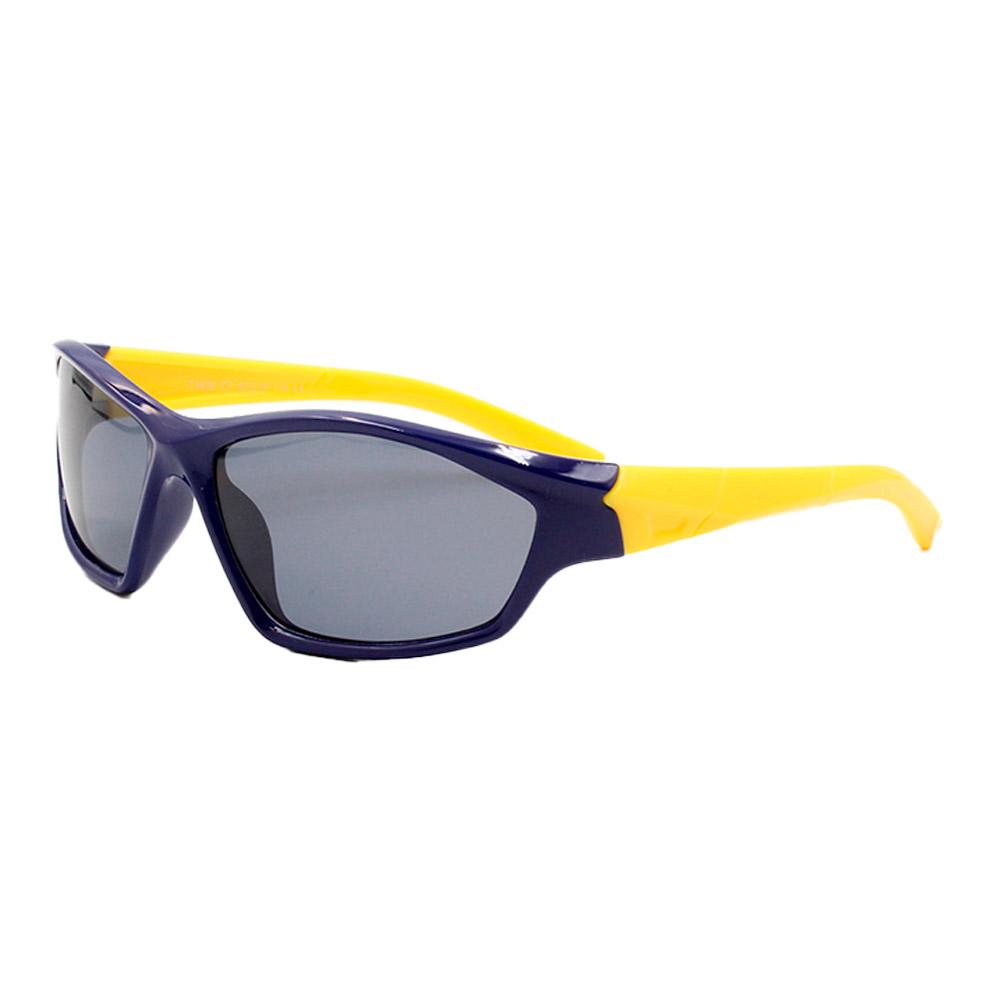 Óculos Solar Infantil Polarizado em Nylon Flexível T1636 Azul
