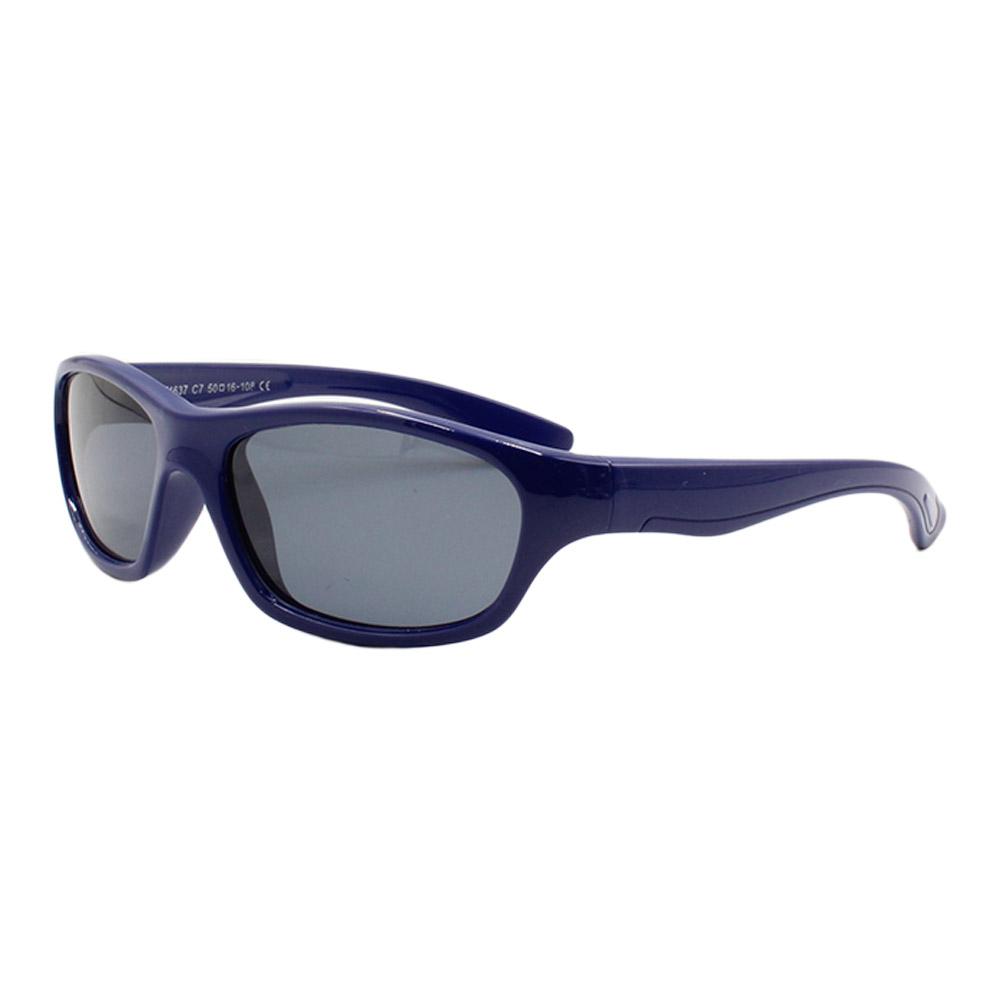 Óculos Solar Infantil Polarizado em Nylon Flexível T1637 Azul