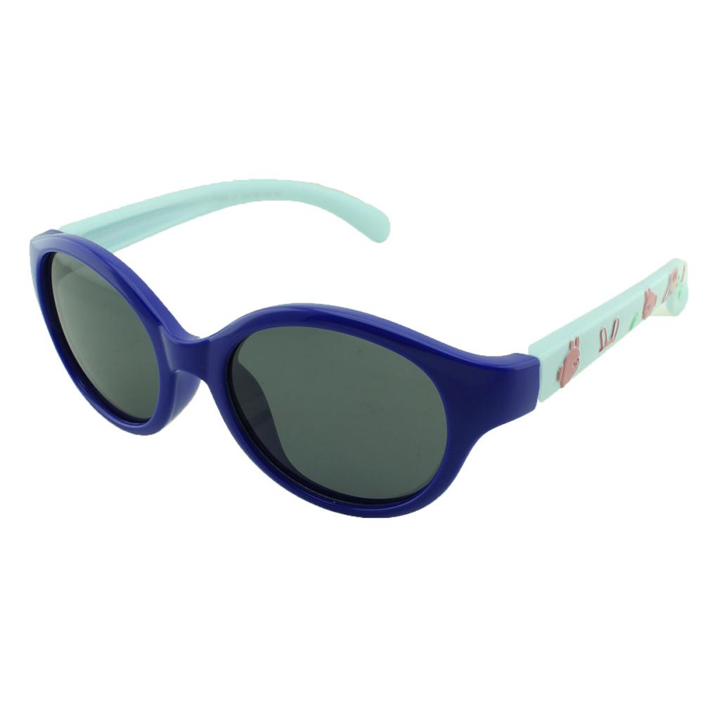 Óculos Solar Infantil Polarizado em Nylon Flexível T1638 Azul