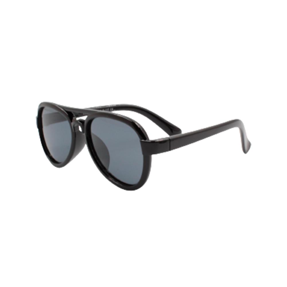 Óculos Solar Infantil Polarizado em Nylon Flexível T1759-C13 Preto