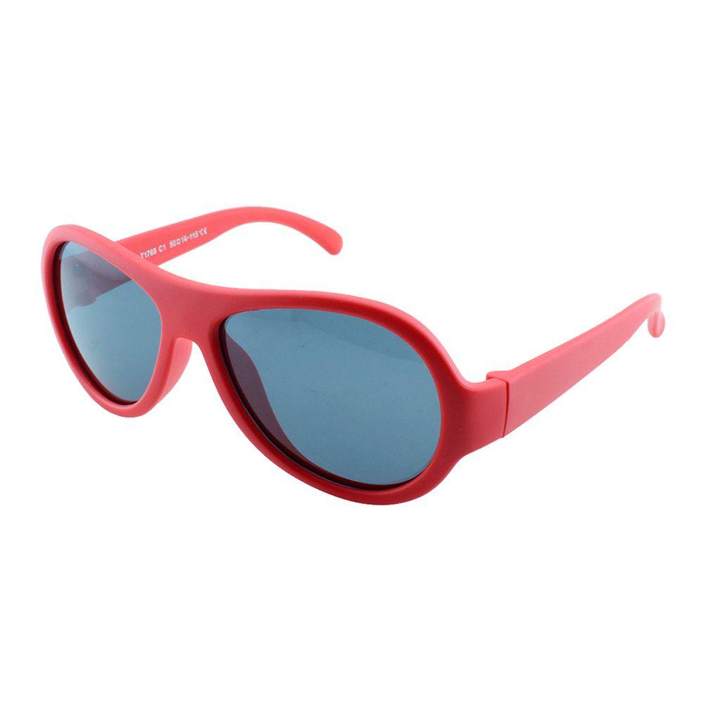 Óculos Solar Infantil Polarizado em Nylon Flexível T1769 Vermelho