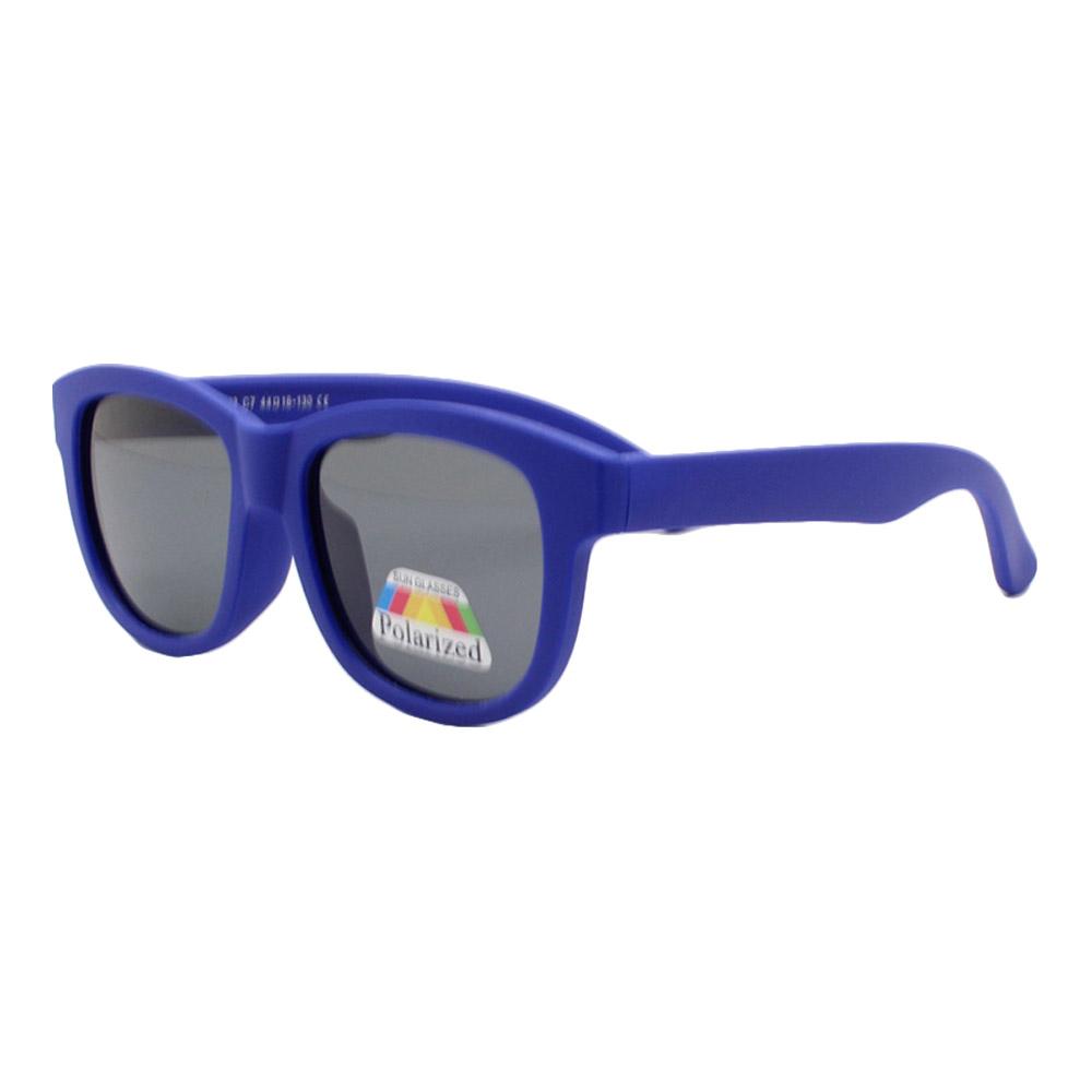 Óculos Solar Infantil Polarizado em Nylon Flexível T1873 Azul