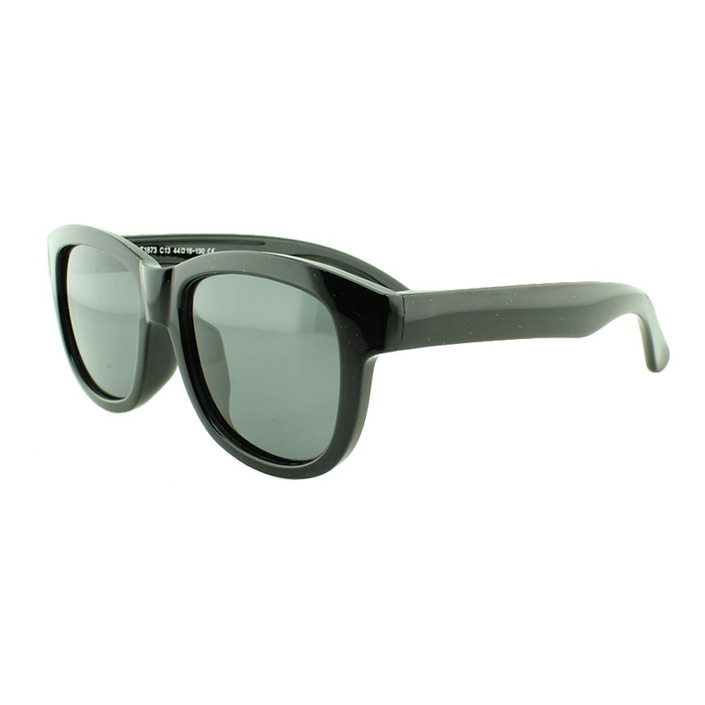 Óculos Solar Infantil Polarizado em Nylon Flexível T1873 Preto