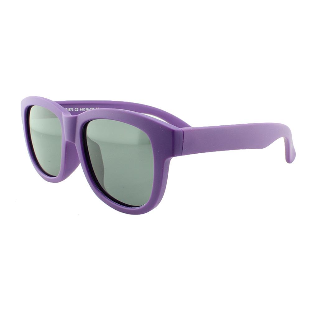 Óculos Solar Infantil Polarizado em Nylon Flexível T1873 Roxo