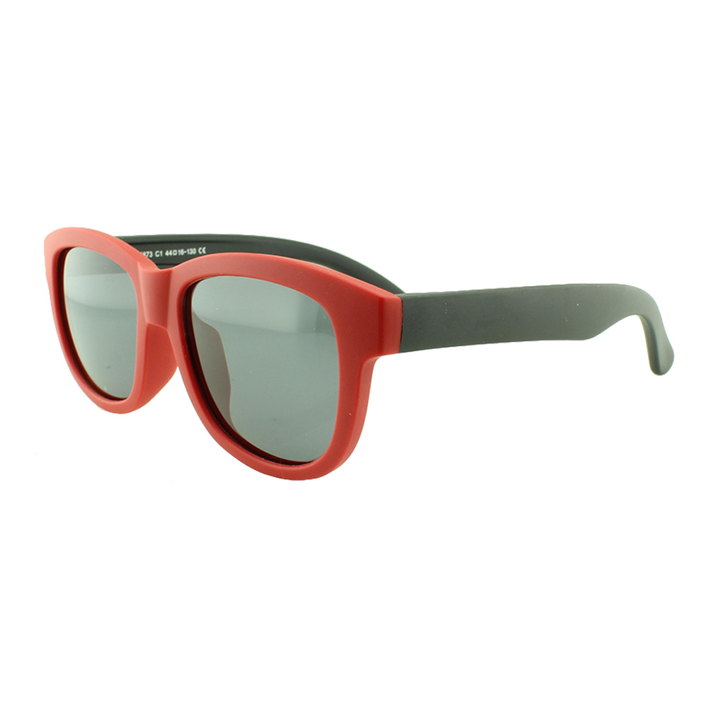 Óculos Solar Infantil Polarizado em Nylon Flexível T1873 Vermelho