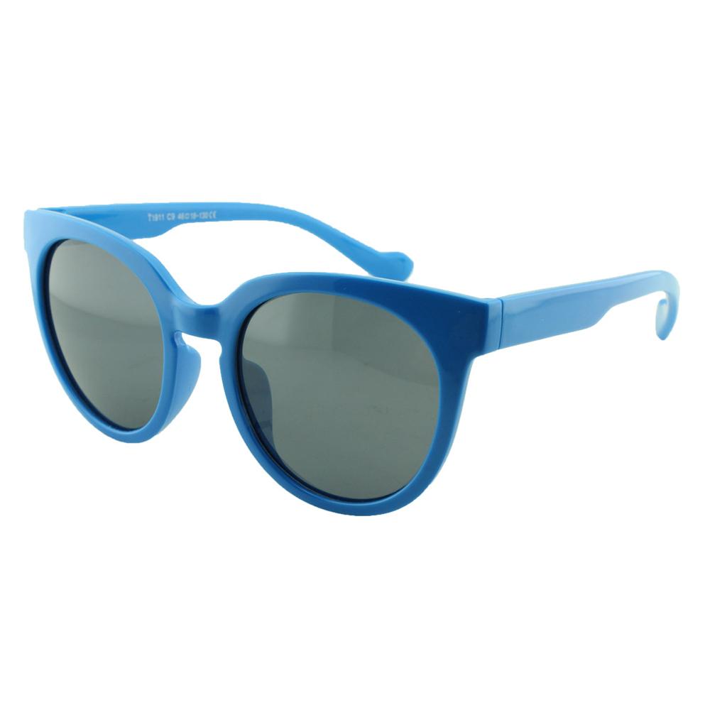 Óculos Solar Infantil Polarizado em Nylon Flexível T1911 Azul