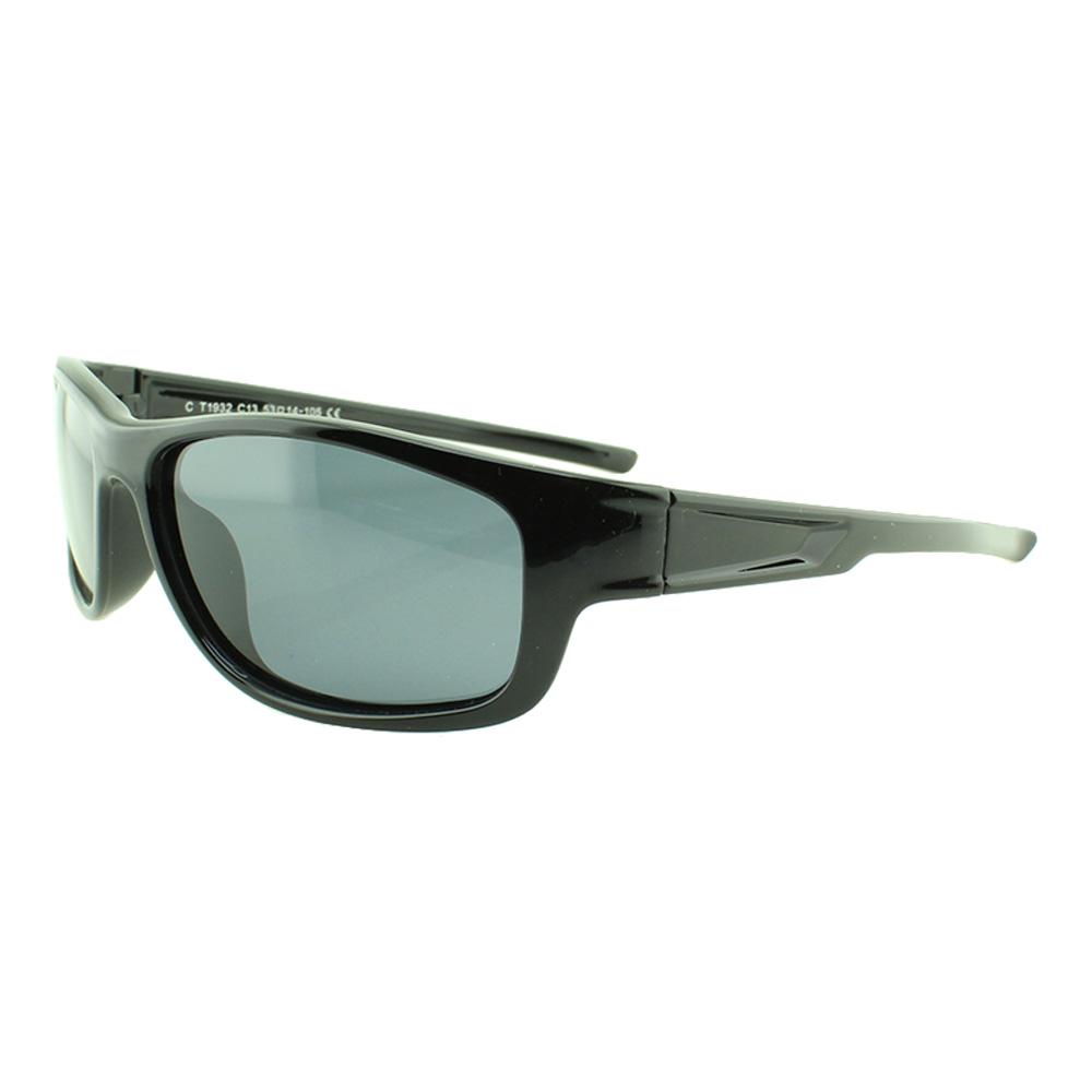 Óculos Solar Infantil Polarizado em Nylon Flexível T1932 Preto