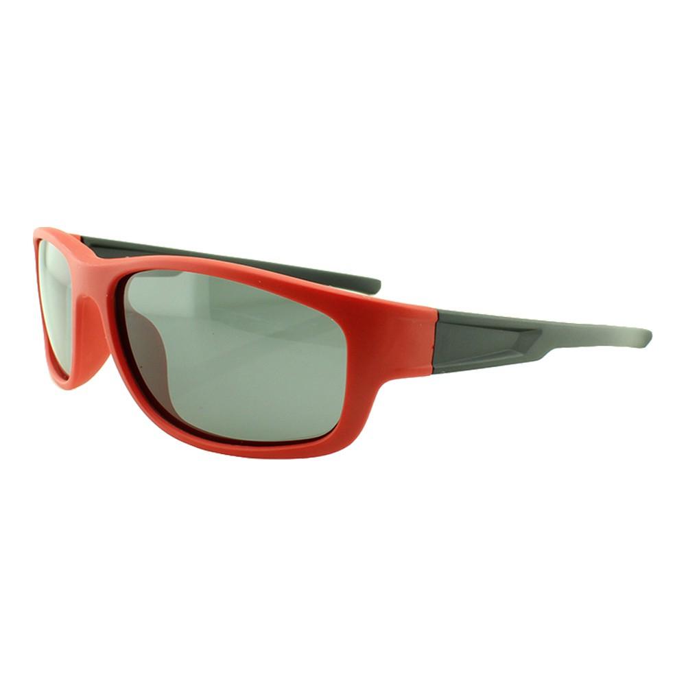 Óculos Solar Infantil Polarizado em Nylon Flexível T1932 Vermelho e Preto