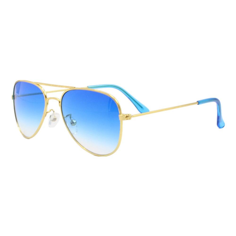 Óculos Solar Infantil Primeira Linha AVIADOR Azul