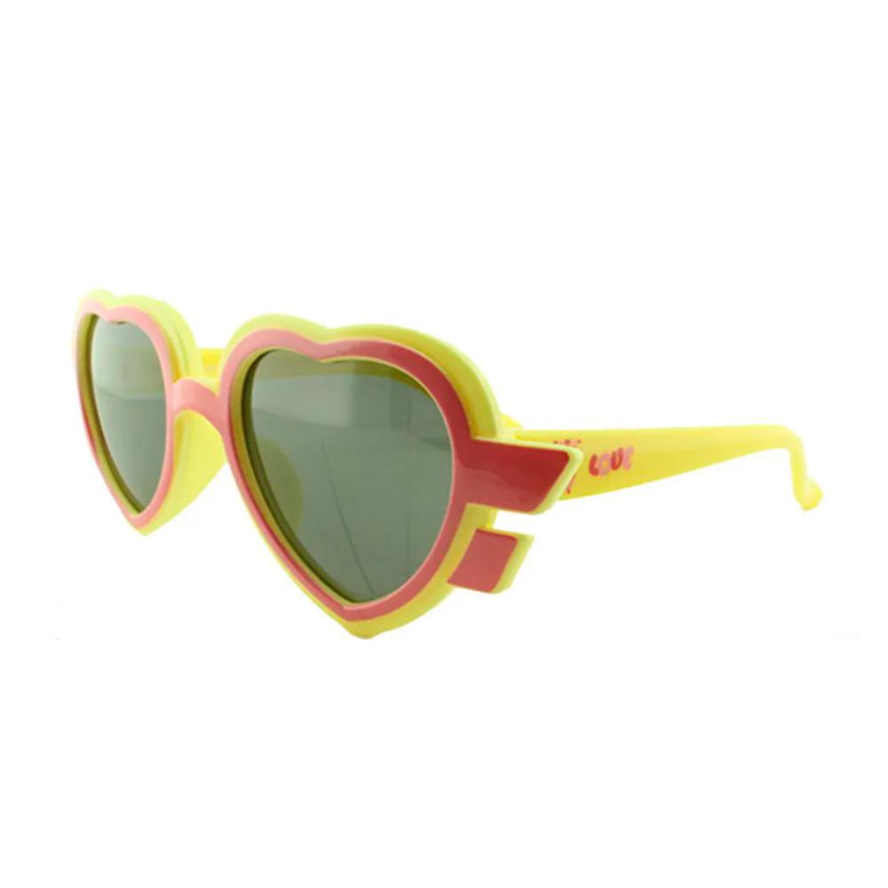 Óculos Solar Infantil Primeira Linha Polarizado T1924 Amarelo