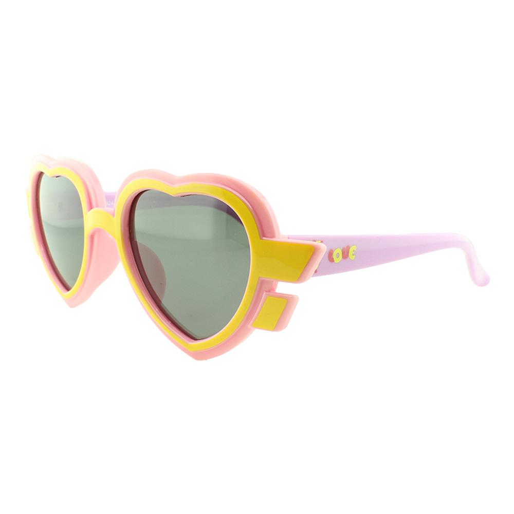 Óculos Solar Infantil Primeira Linha Polarizado T1924 Rosa