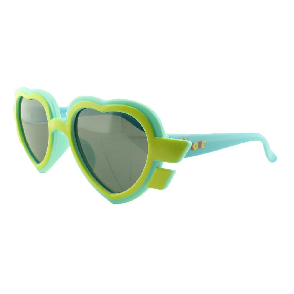 Óculos Solar Infantil Primeira Linha Polarizado T1924 Turquesa