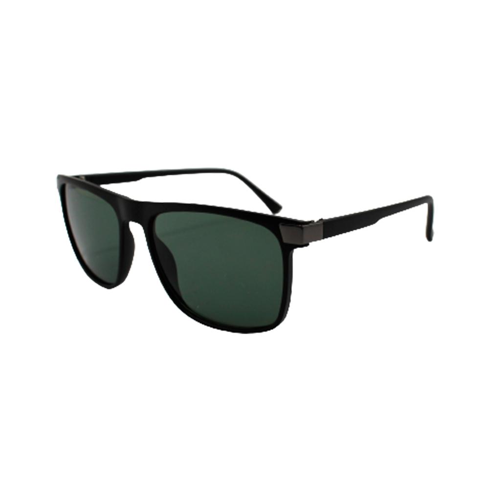 Óculos Solar Masculino 11017 Preto e Verde