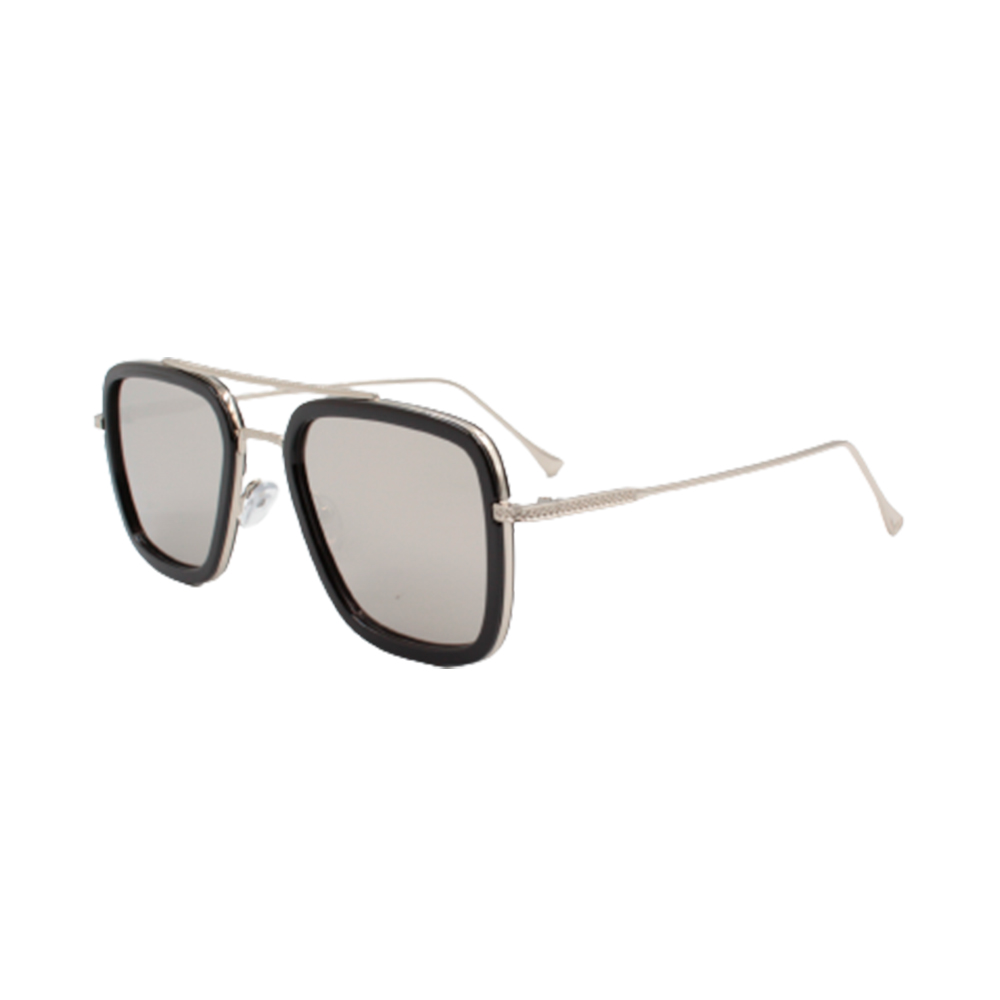 Óculos Solar Masculino 95581-C1 Prata Espelhado