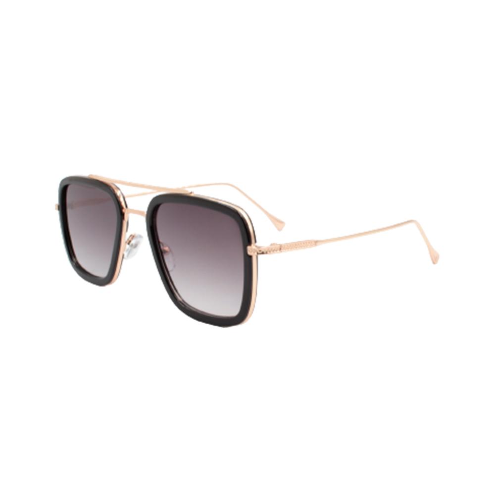 Óculos Solar Masculino 95581-C2 Dourado e Preto