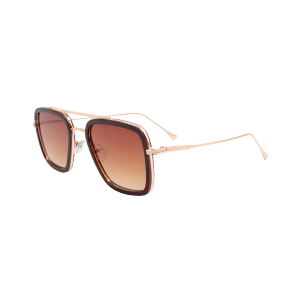 Óculos Solar Masculino 95581-C9 Dourado e Marrom
