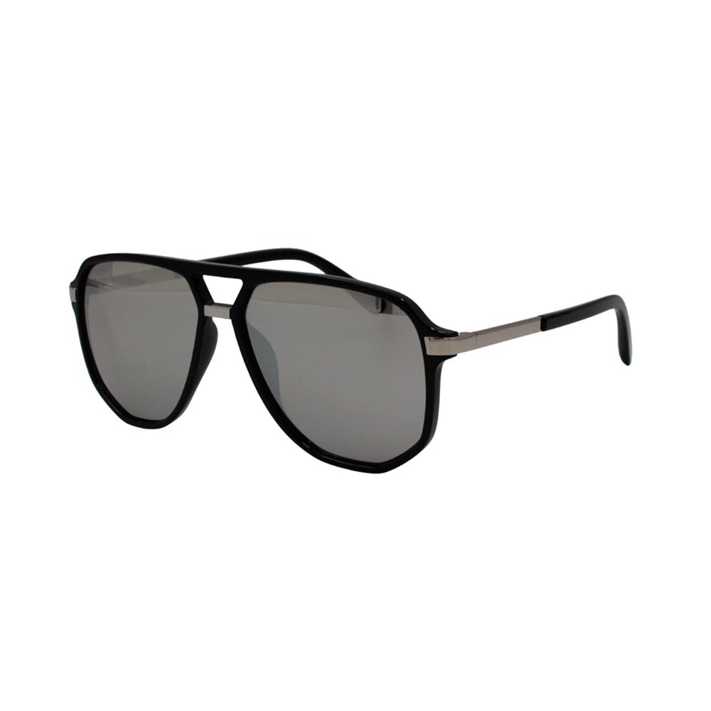 Óculos Solar Masculino B881490 Preto e Prata