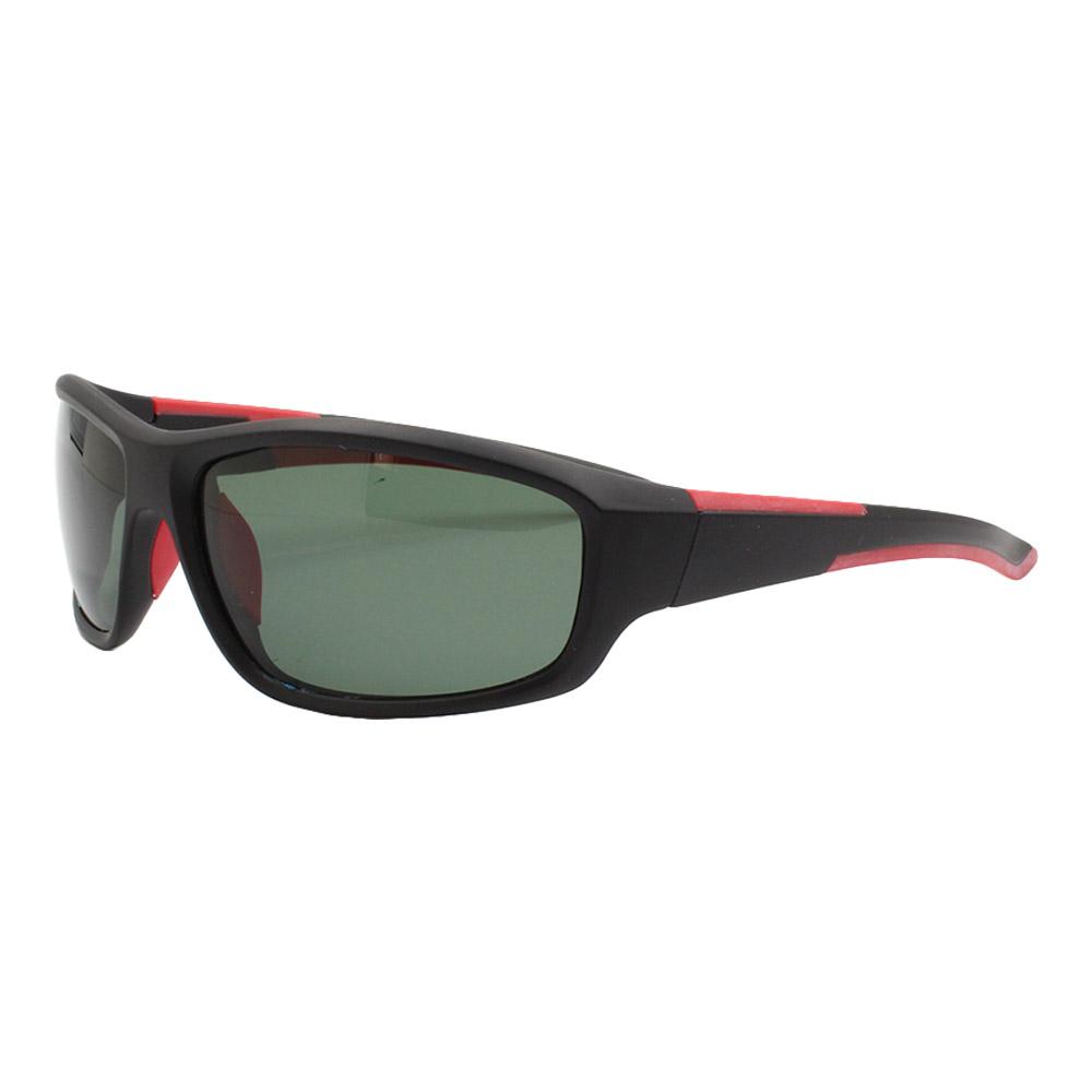 Óculos Solar Masculino Esportivo Polarizado JF106 Preto e Verde