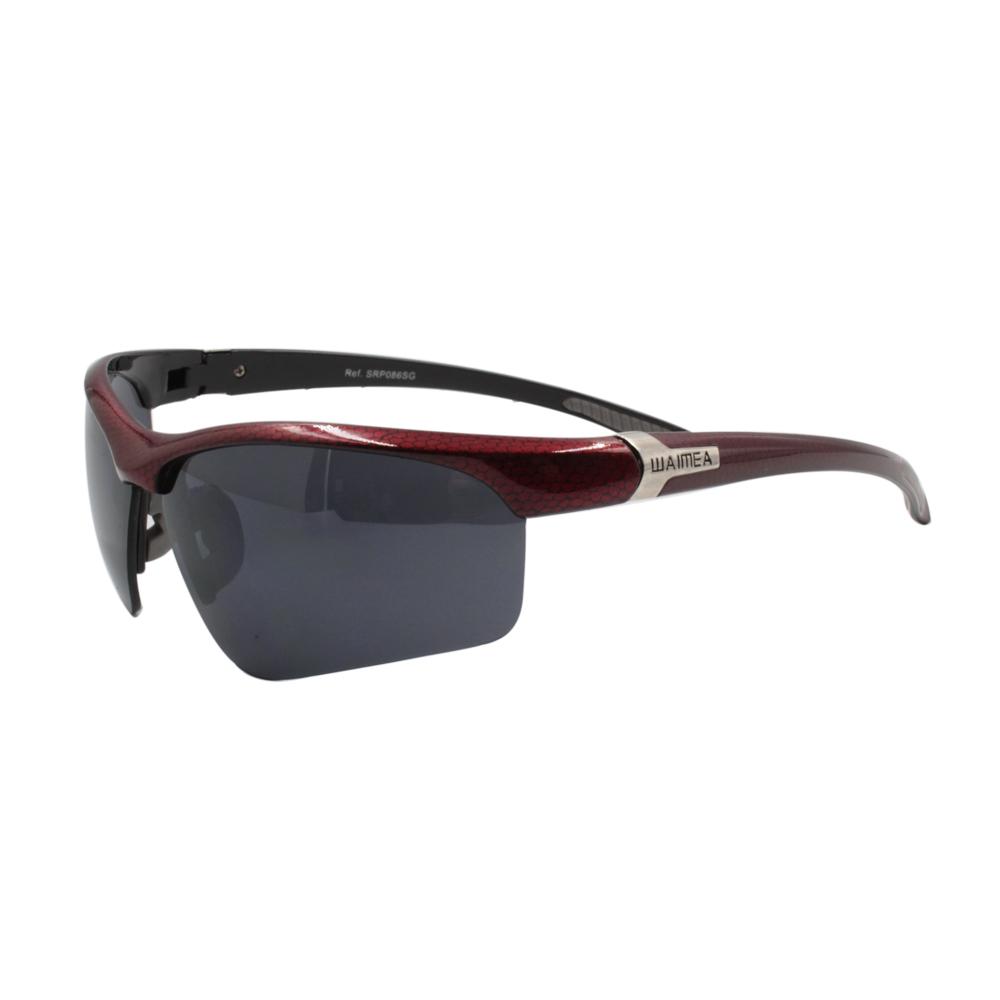 Óculos Solar Masculino Esportivo SRP086SG Vermelho