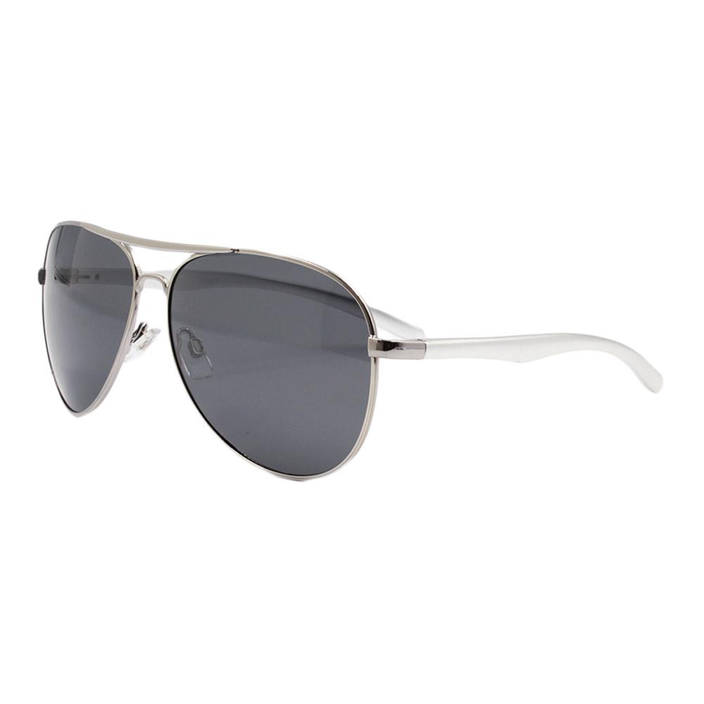 Óculos Solar Masculino Polarizado 88017 Prata