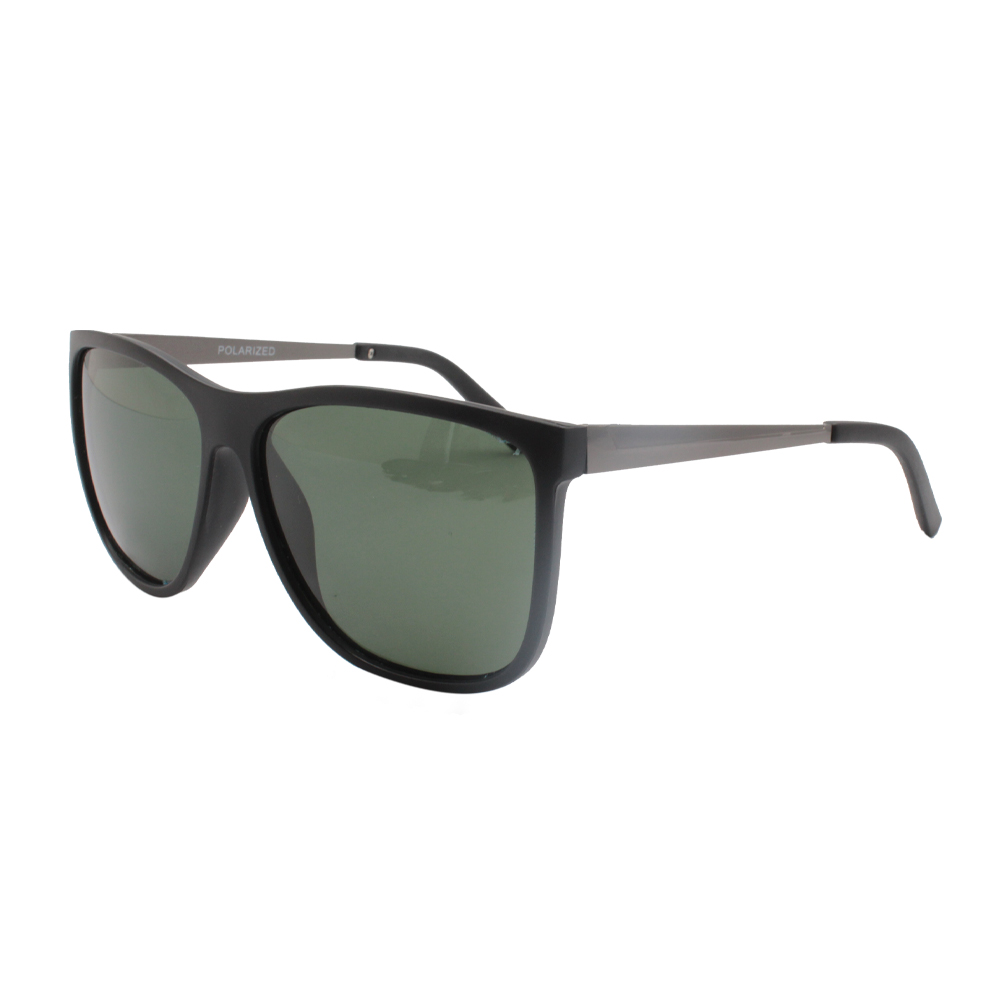 Óculos Solar Masculino Polarizado HP1596P-C3 Preto e Verde