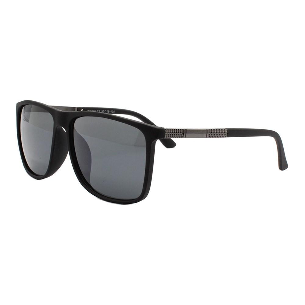 Óculos Solar Masculino Polarizado LM9378 Preto