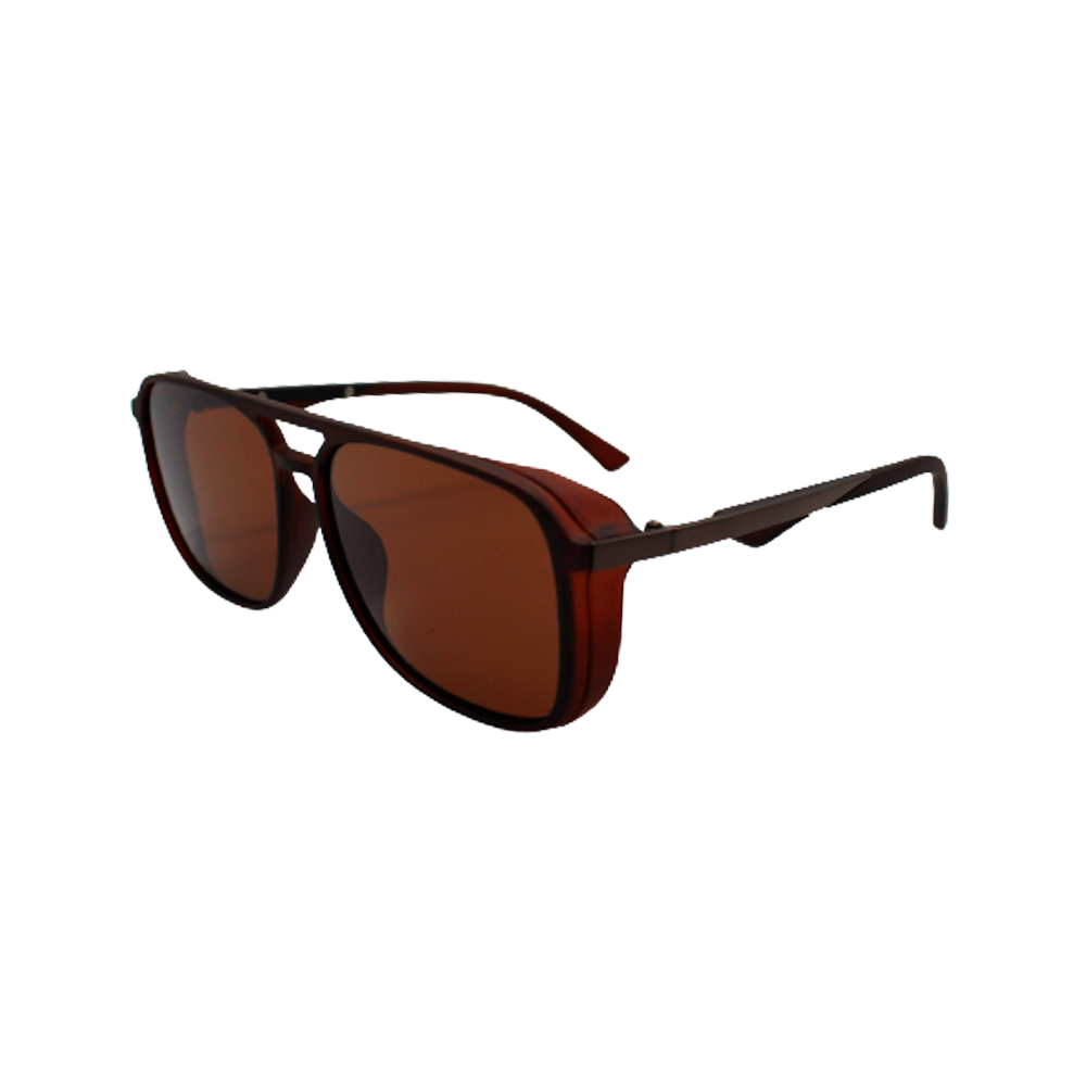 Óculos Solar Masculino Polarizado P8831 Marrom