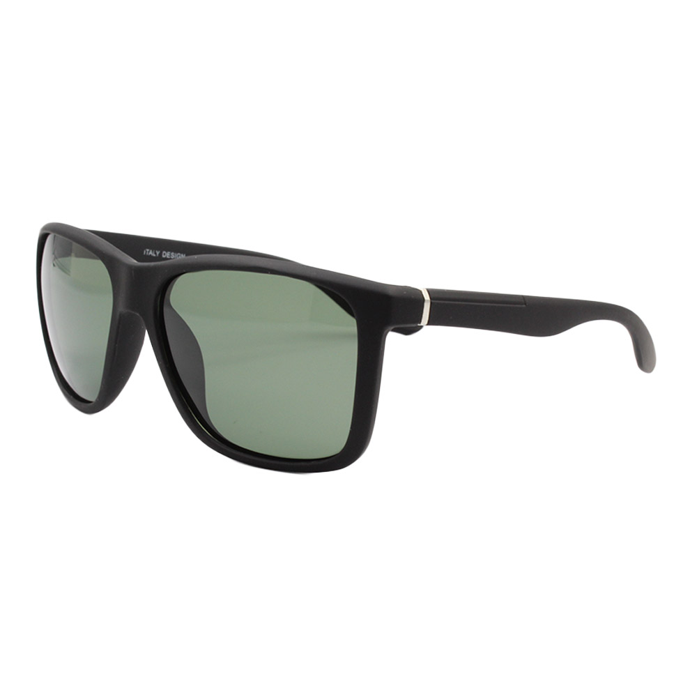 Óculos Solar Masculino Polarizado RVP008 Preto e Verde