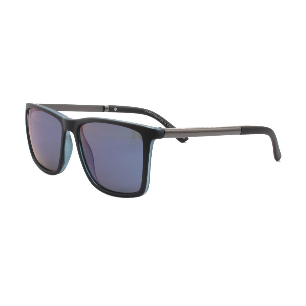 Óculos Solar Masculino Polarizado VB5038-C03 Preto e Azul Espelhado