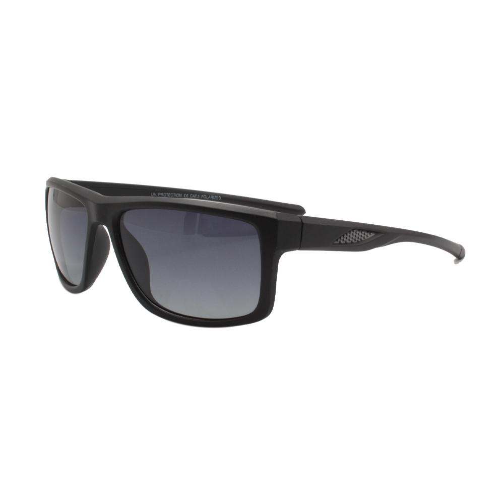 Óculos Solar Masculino Polarizado VB5076-C03 Preto Fosco