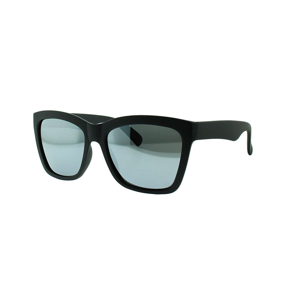 Óculos Solar Masculino Polarizado VC1169 Preto e Prata