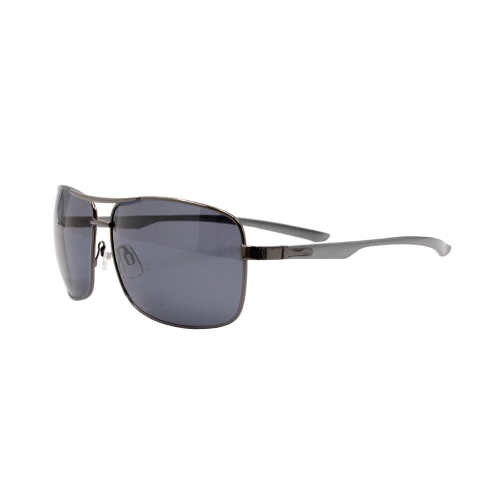 Óculos Solar Masculino Primeira Linha Polarizado 88011 Grafite com Hastes de Alumínio
