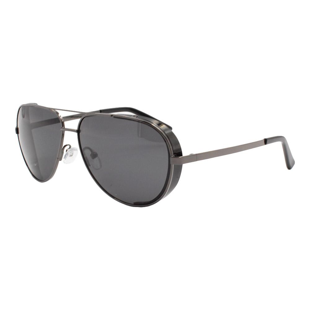 Óculos Solar Masculino Primeira Linha Polarizado Aviador YC3296 Chumbo