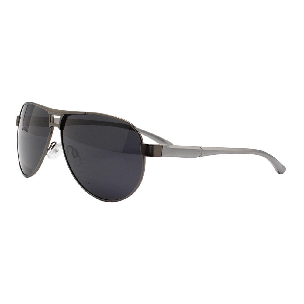 Óculos Solar Masculino Primeira Linha Polarizado B882090 Grafite com Hastes de Alumínio