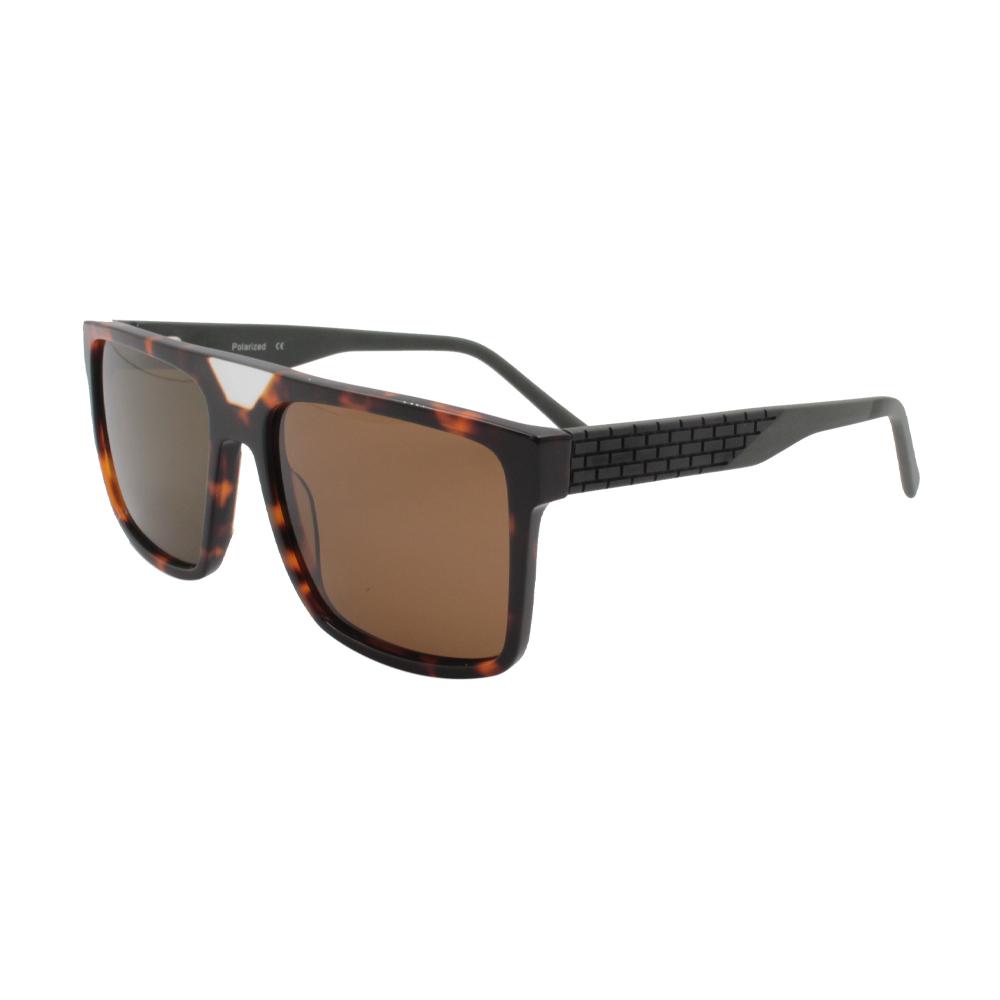 Óculos Solar Masculino Primeira Linha Polarizado MB4601-C2 Marrom Mesclado