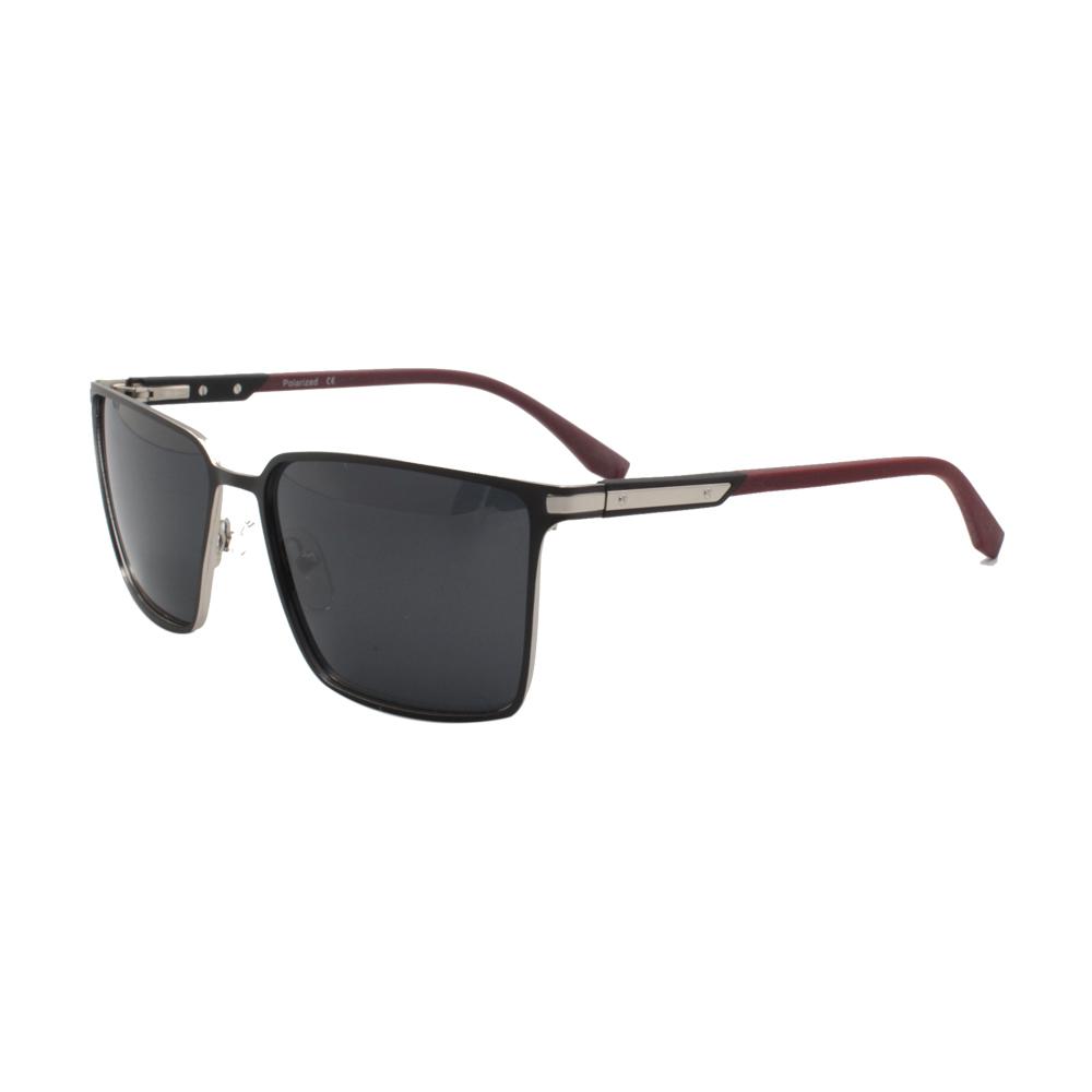 Óculos Solar Masculino Primeira Linha Polarizado MJ4578-C1 Preto e Vinho