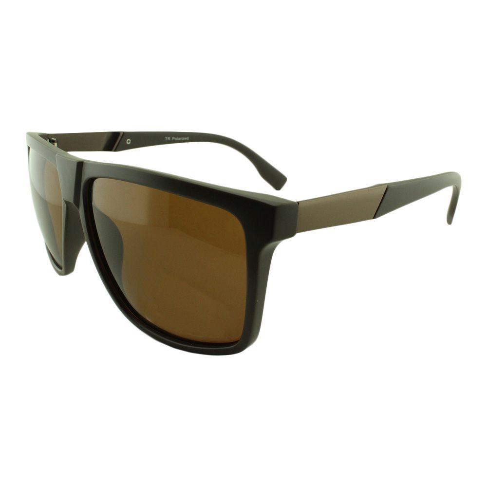 Óculos Solar Masculino Primeira Linha Polarizado TP21053 Marrom