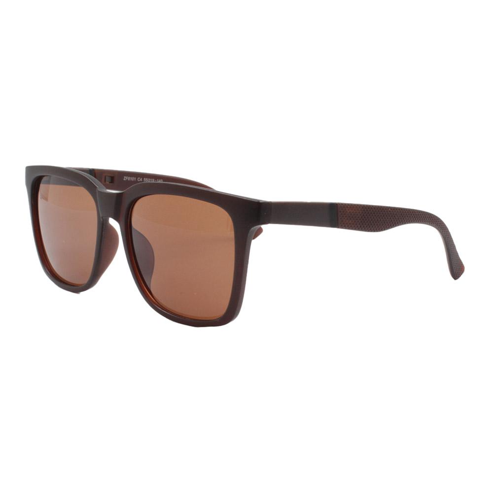 Óculos Solar Masculino ZF8101 Marrom