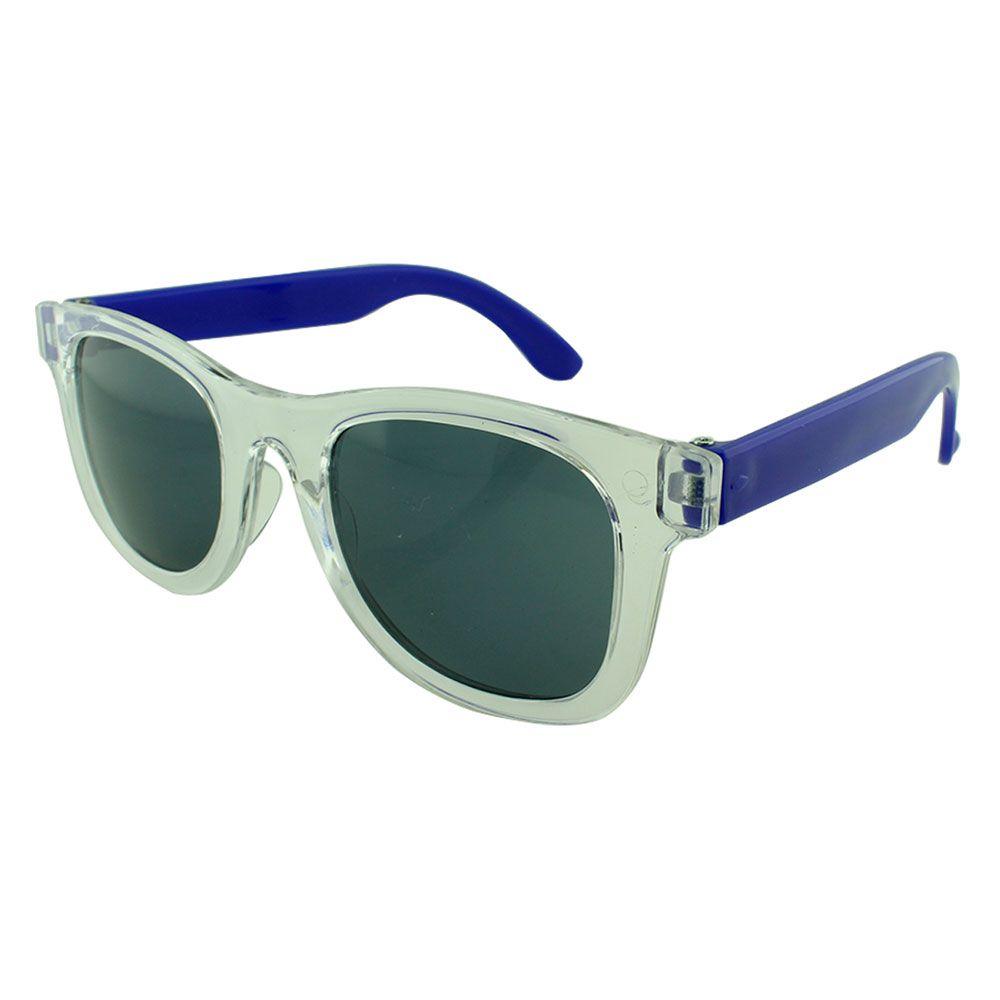 Óculos Solar para Brinde Infantil 843 Transparente com Azul Escuro (SOB ENCOMENDA)
