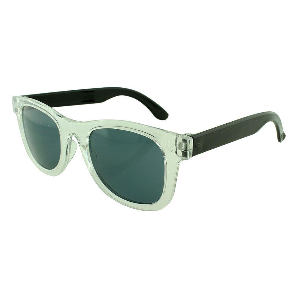 Óculos Solar para Brinde Infantil 843 Transparente com Preto (SOB ENCOMENDA)