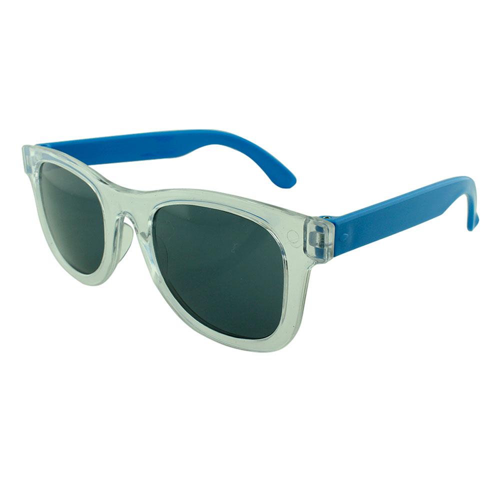 Óculos Solar para Brinde Infantil 843 Transparente e Azul (SOB ENCOMENDA)