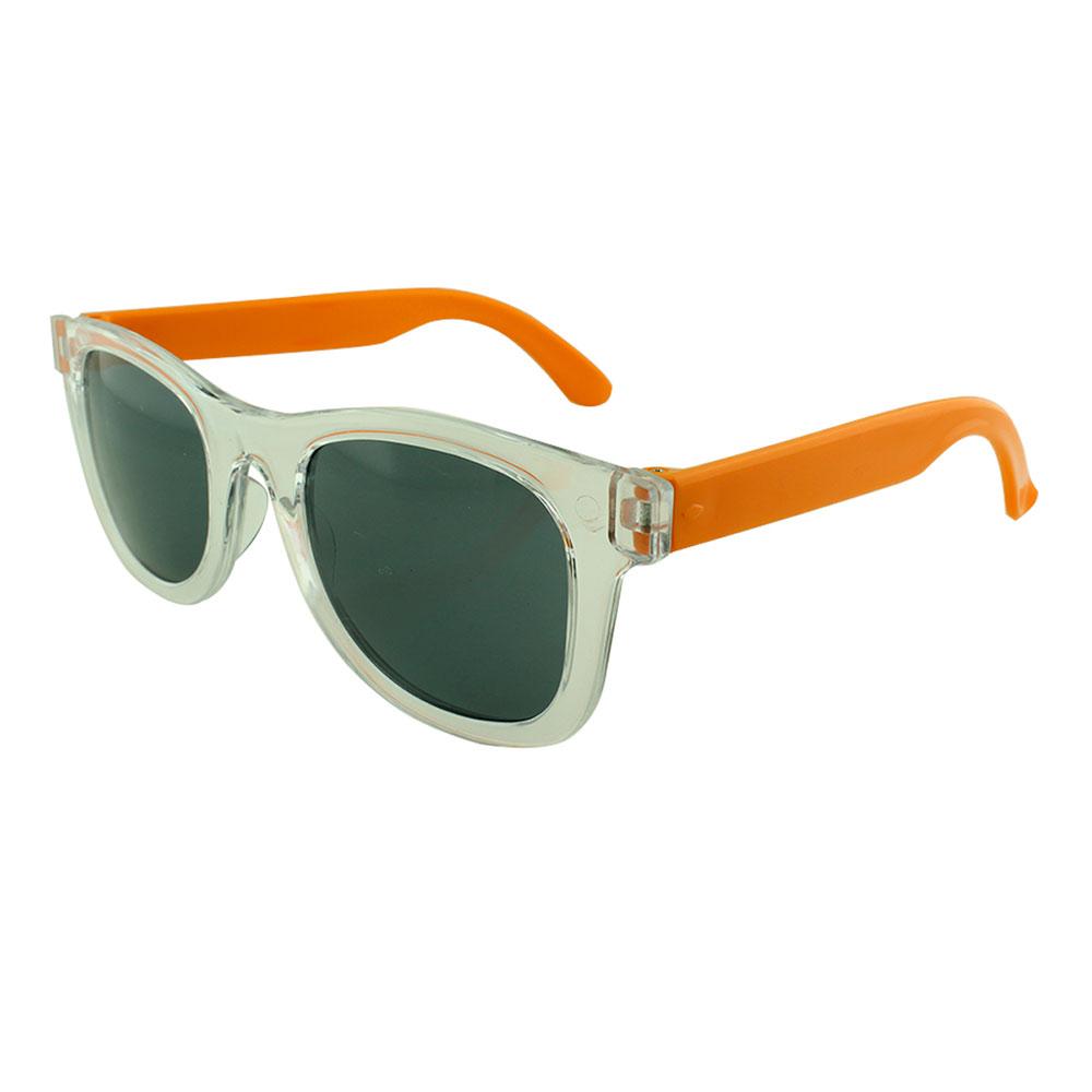 Óculos Solar para Brinde Infantil 843 Transparente e Laranja (SOB ENCOMENDA)