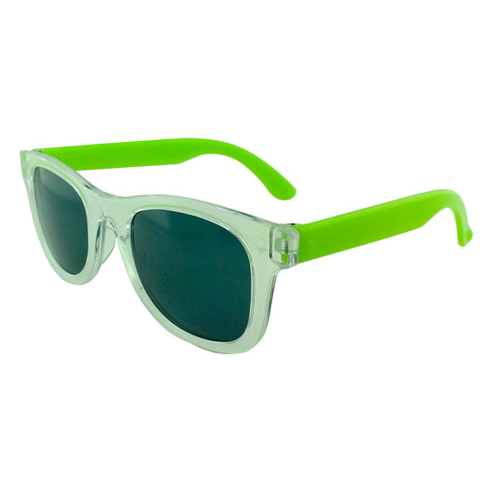 Óculos Solar para Brinde Infantil 843 Transparente e Verde (SOB ENCOMENDA)