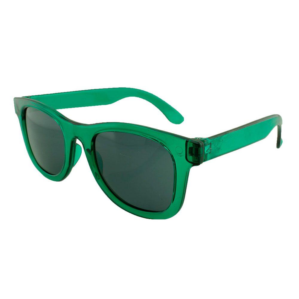 Óculos Solar para Brinde Infantil MINI WAY 840 Verde Translúcido (SOB ENCOMENDA)
